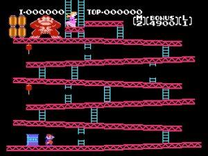 Arcade Game Donkey Kong Gameplay