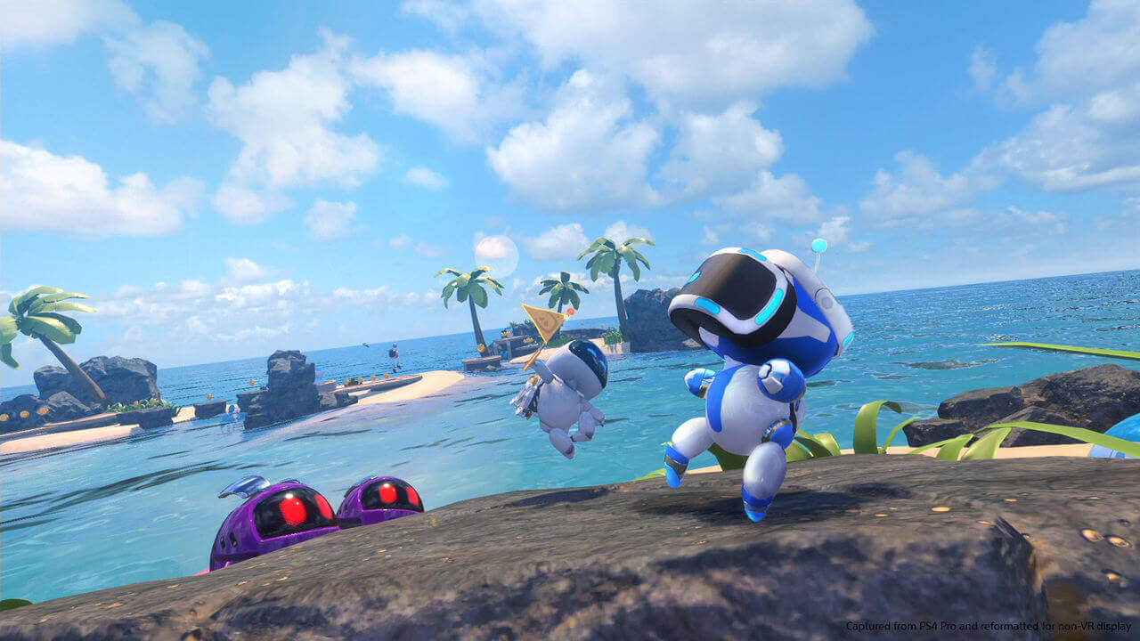 Astro Bot Rescue Mission Gameplay Screenshot 1