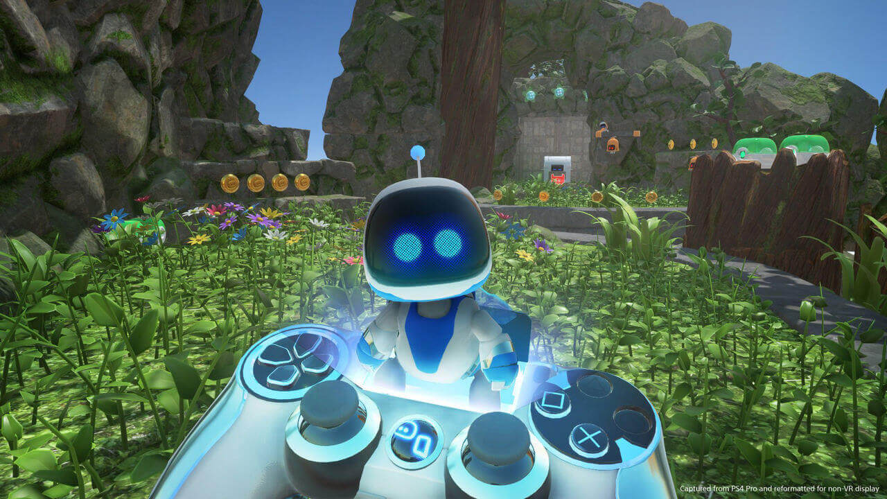 Astro Bot Rescue Mission Gameplay Screenshot 2