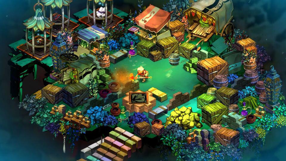 بازی Bastion ساخته ی شرکت Supergiant Games در سال 2012 در سبک اکشن و نقش آفرینی