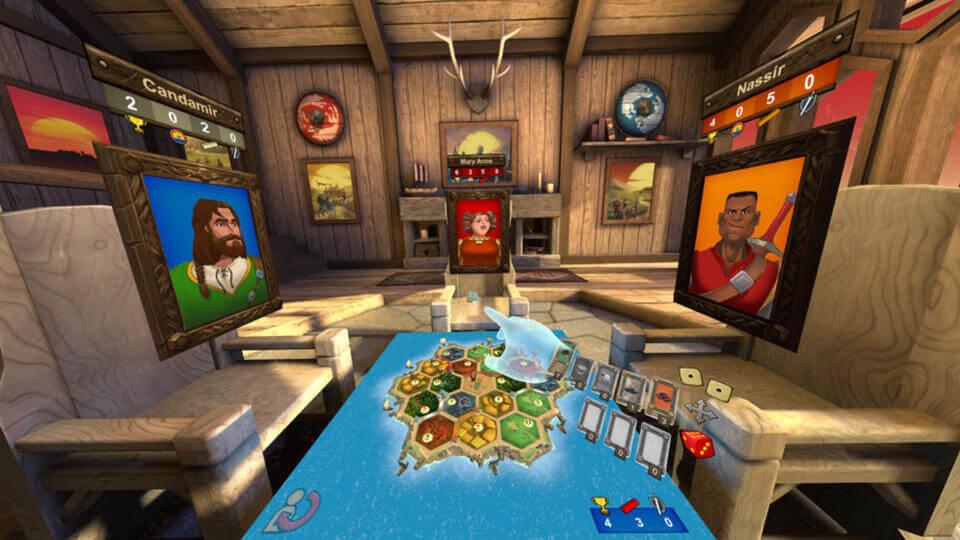 بازی رومیزی Catan VR