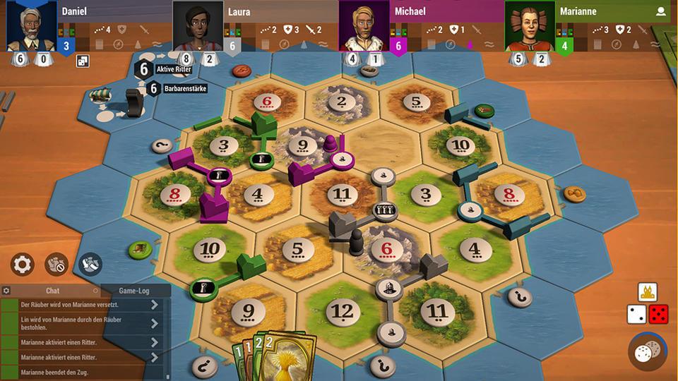 بازی رومیزی Catan Universe