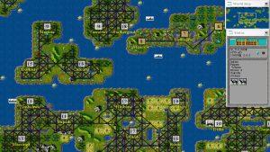 نمای بالا به پایین در بازی Civilization 1