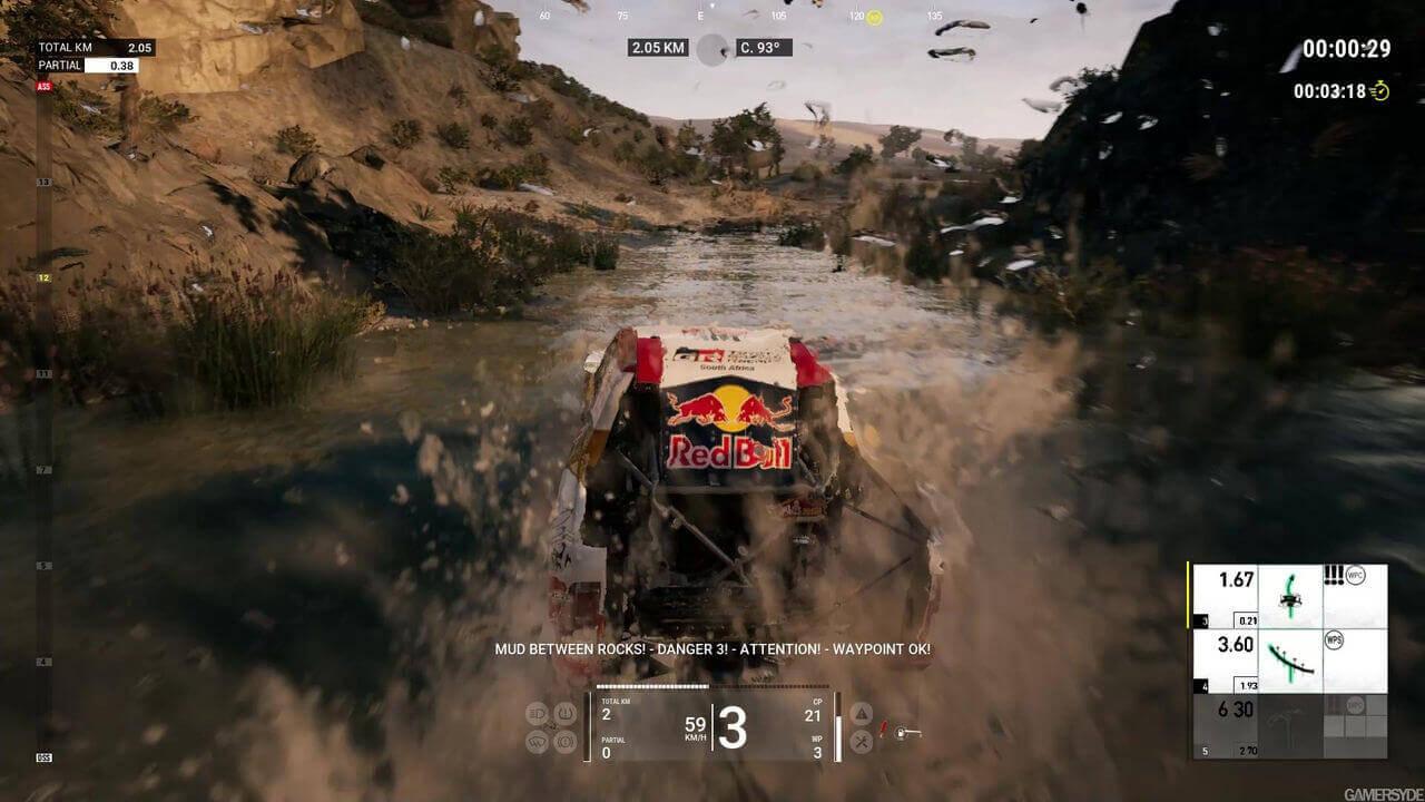 Dakar 18 Gameplay Screenshot 2