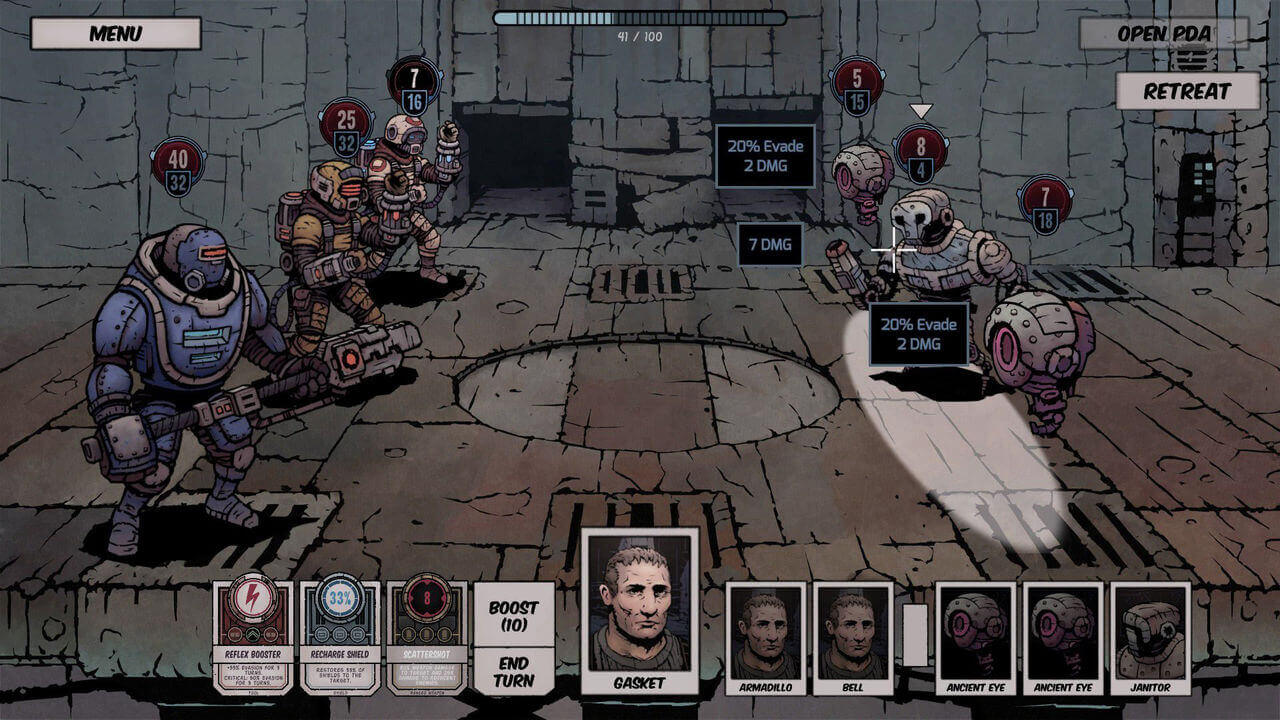Deep Sky Derelicts Gameplay Screenshot 1
