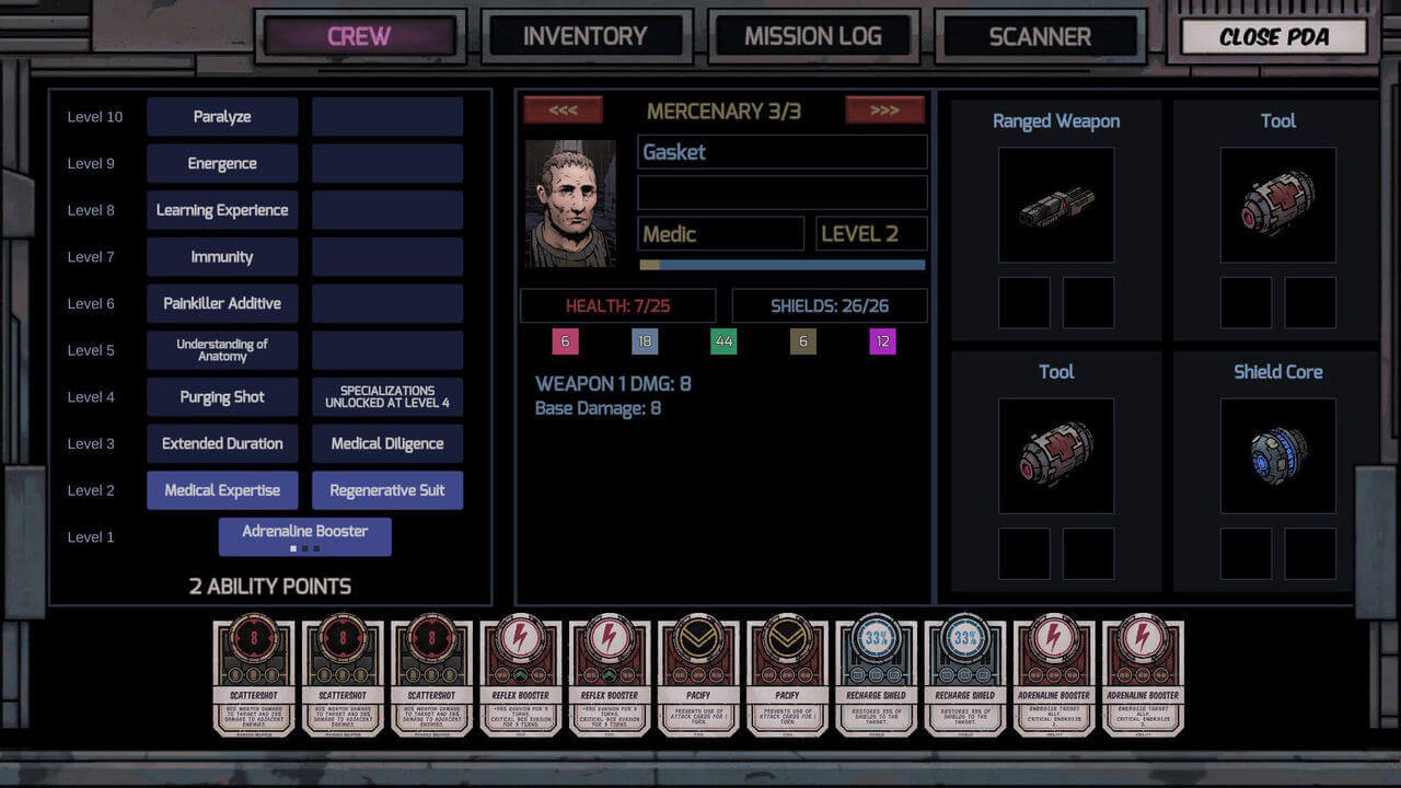 Deep Sky Derelicts Gameplay Screenshot 5