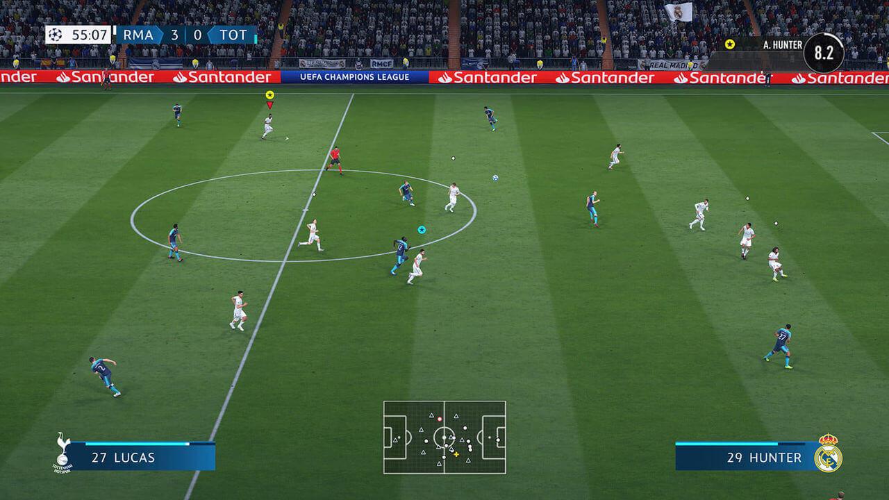 FIFA 19 Gameplay Screenshot 2