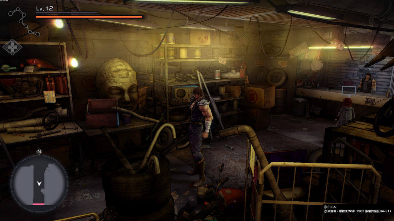 Fist Of The North Star Lost Paradise Gameplay Screenshot 1