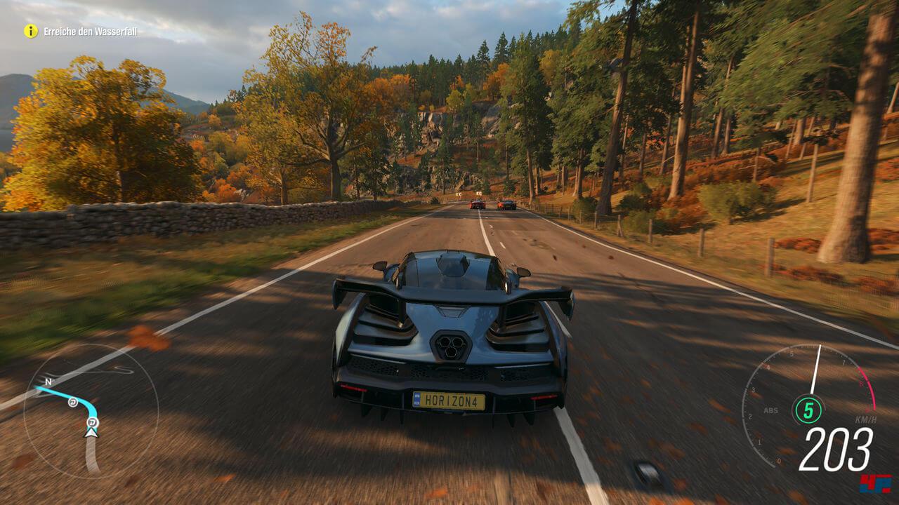 Forza Horizon 4 Gameplay Screenshot 1