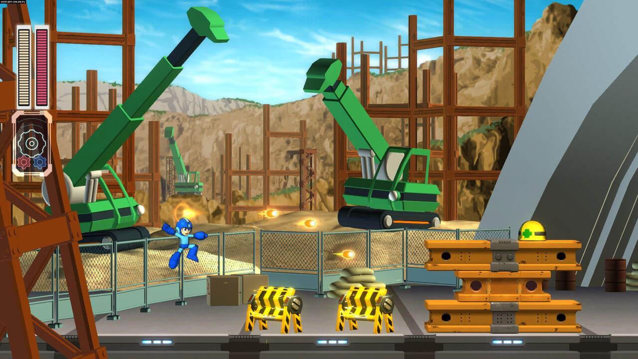 Mega Man 11 Gameplay Screenshot 2