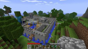 Minecraft Sandbox Video Game