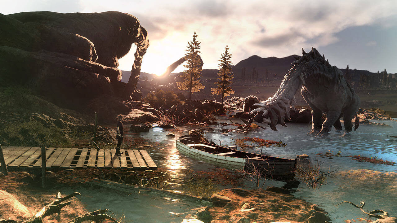 Monster Of The Deep Final Fantasy XV Gameplay Screenshot 2