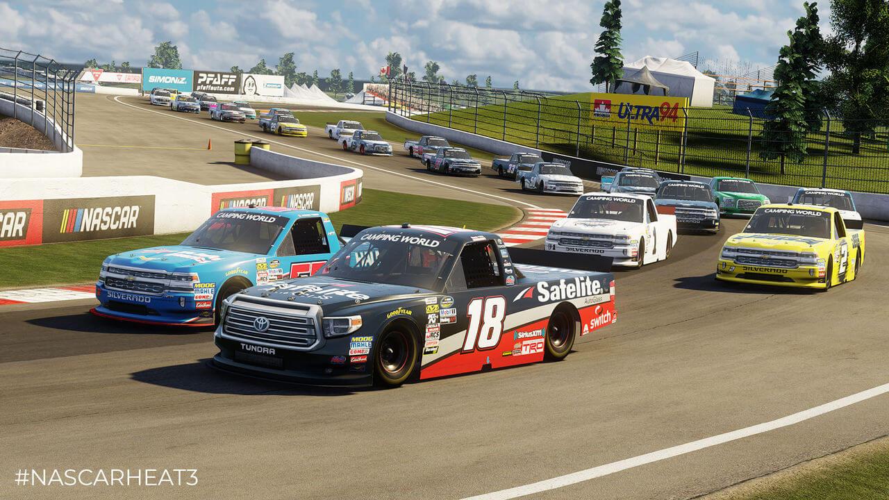 NASCAR Heat 3 Gameplay Screenshot 5