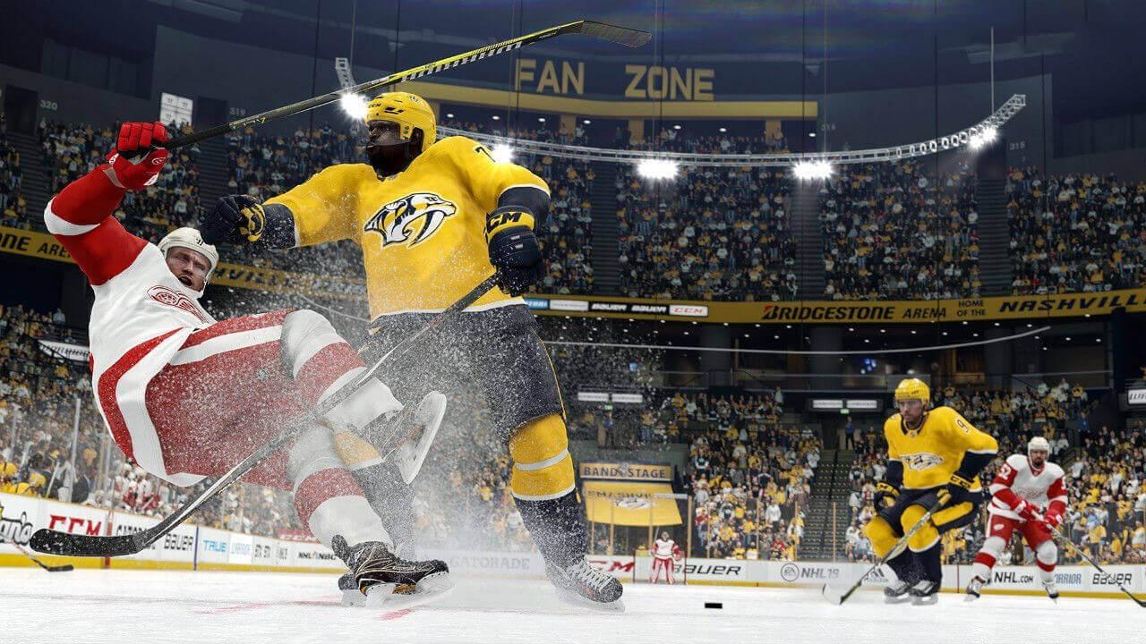 NHL 19 Gameplay Screenshot 5