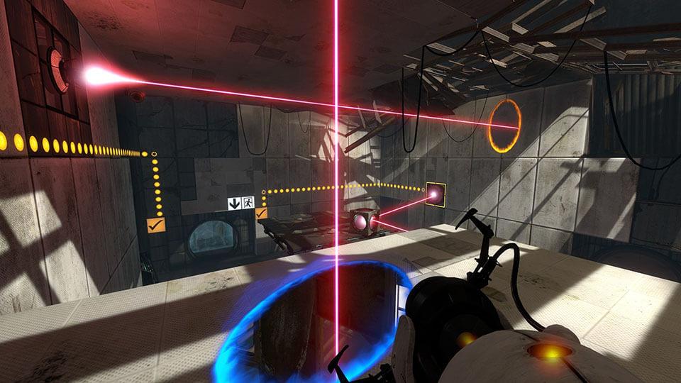 بازی Portal 2 ساخته شرکت Valve در سال 2011