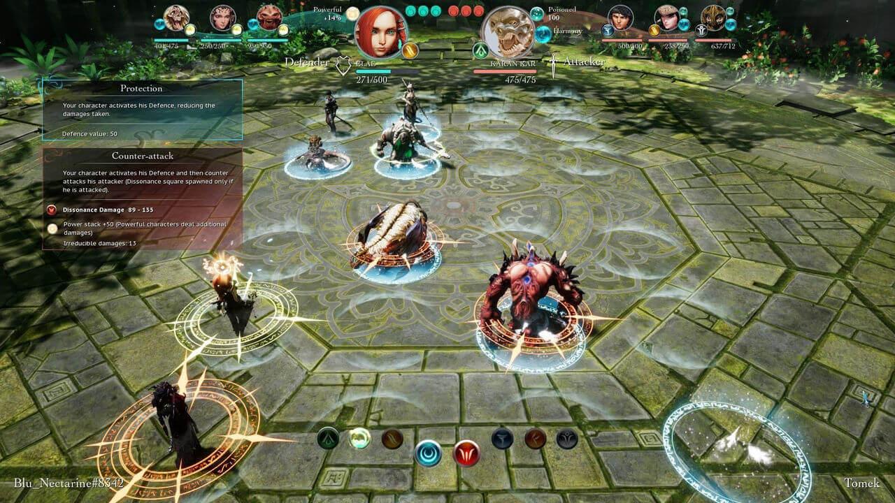 Prodigy Tactics Gameplay Screenshot 1