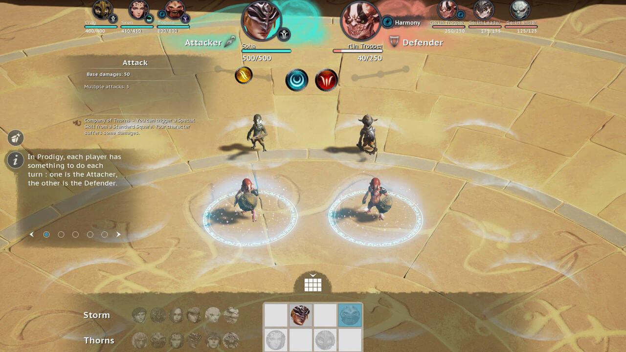 Prodigy Tactics Gameplay Screenshot 4