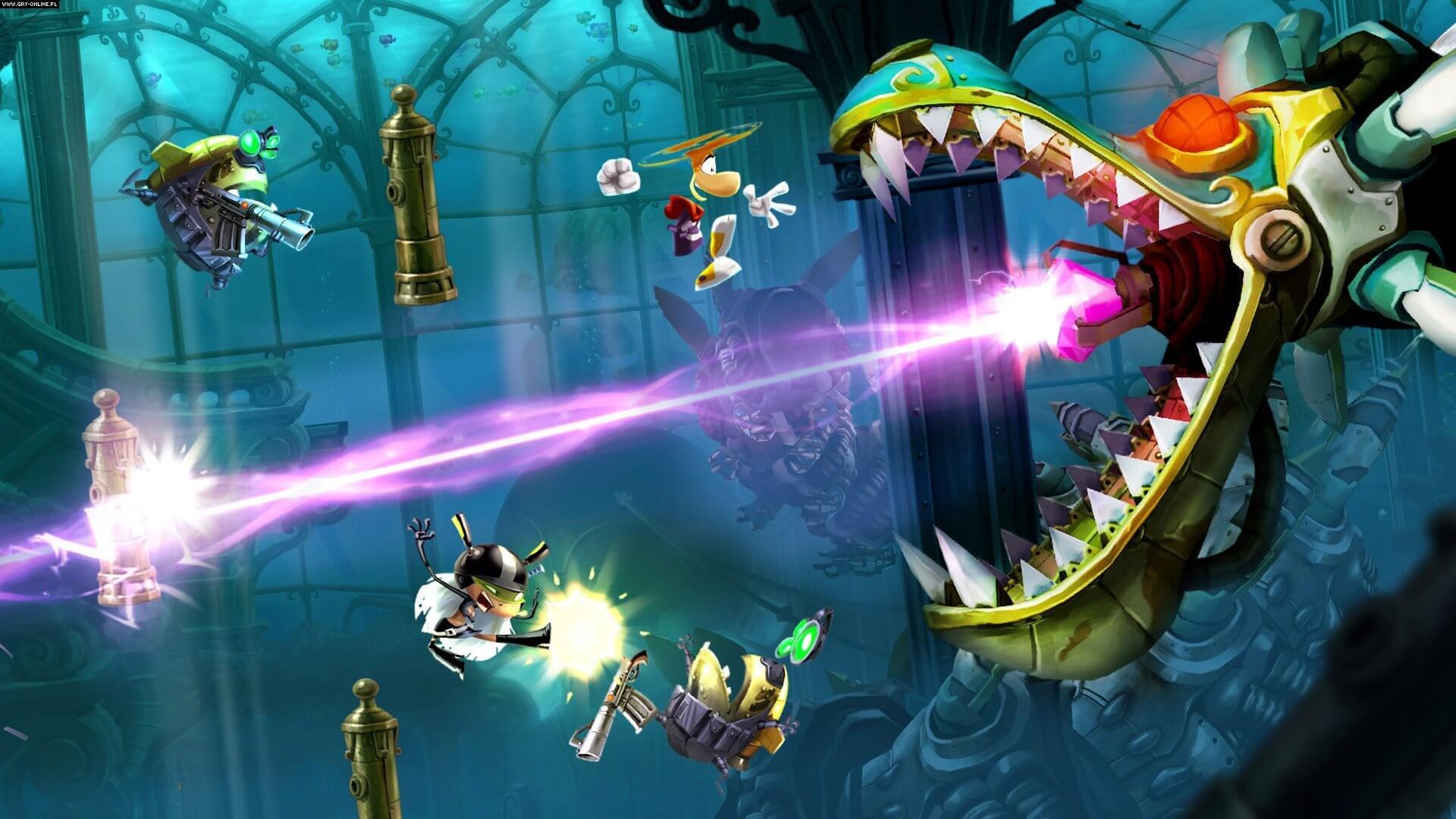 Rayman Legends Gameplay Screenshot 1