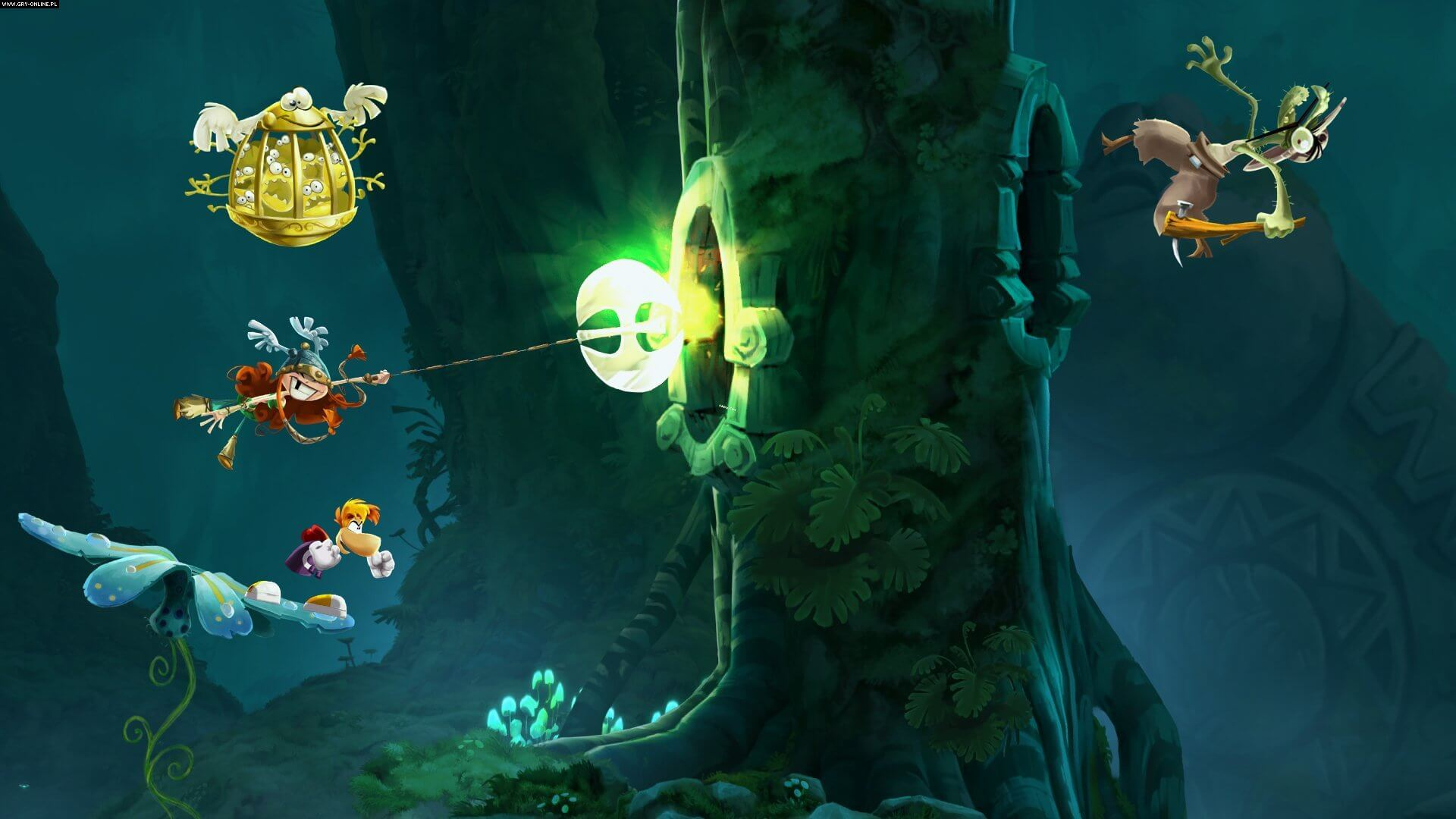Rayman Legends Gameplay Screenshot 2