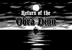 Return Of The Obra Dinn Wallpaper