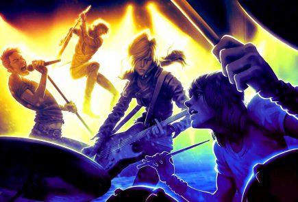 والپیپر بازی rock band