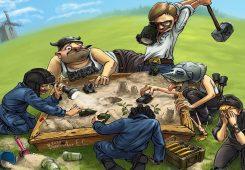 Sandbox Video Game Genre Wallpaper
