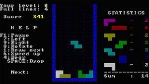 بازی Tetris که از ساختار استدلال فضایی استفاده می کند