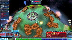 Spore Sandbox Gameplay Screenshot