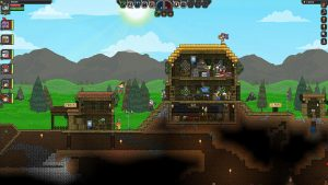 Starbound Sandbox Video Game