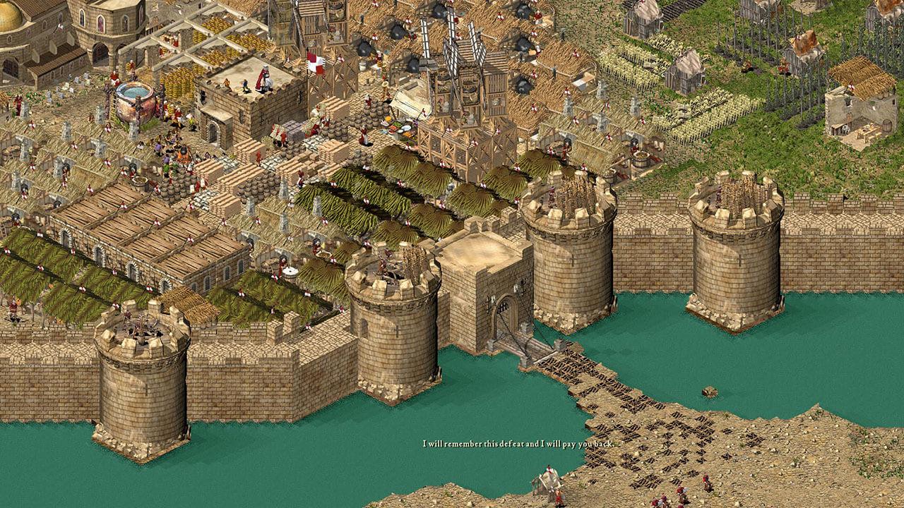 ساخت و ساز و جمع آوری منابع در بازی Stronghold: Crusader