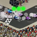 Super Pixel Racers Gameplay Screenshot 4