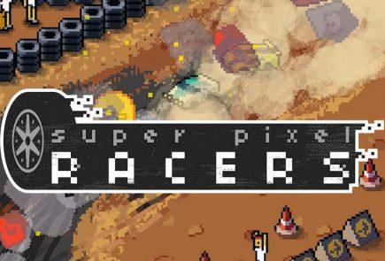 Super Pixel Racers Wallpaper