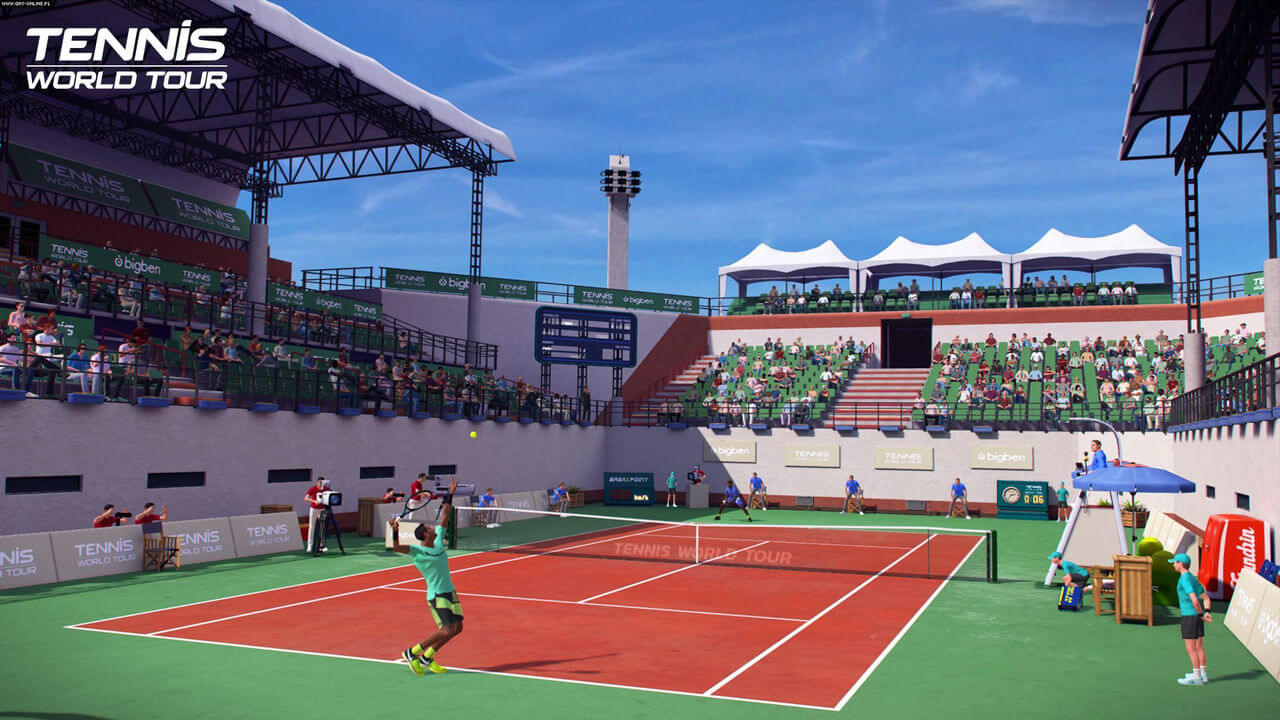 Tennis World Tour Gameplay Screenshot 1