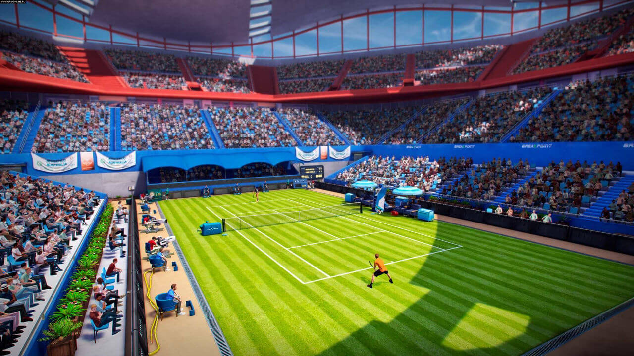Tennis World Tour Gameplay Screenshot