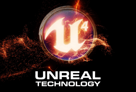 Unreal Engine 4 Logo Wallpaper