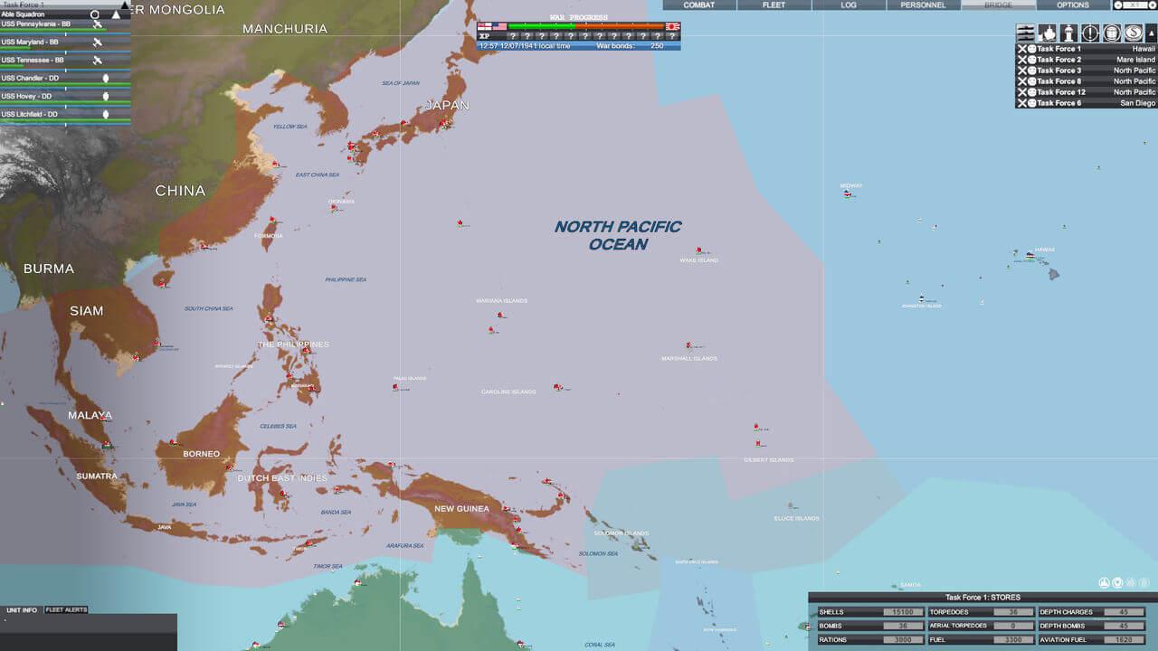 Victory At Sea Pacific Gameplay Screenshot 3