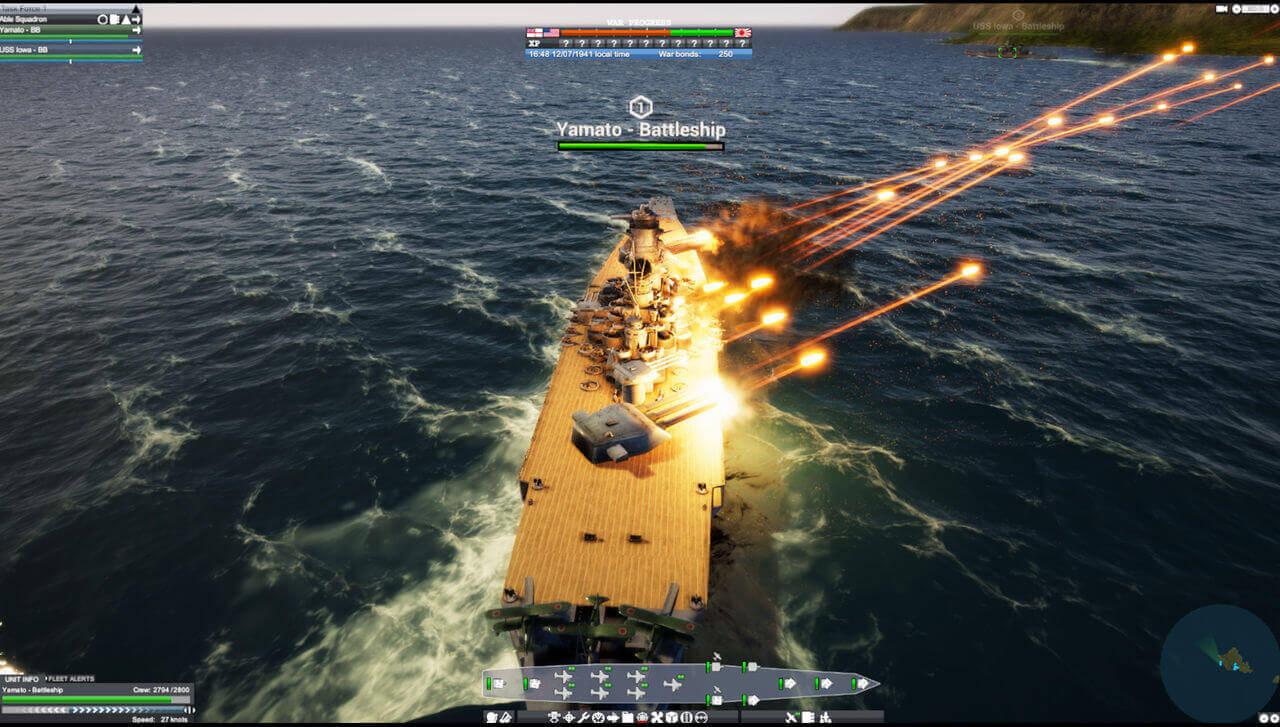Victory At Sea Pacific Gameplay Screenshot 5