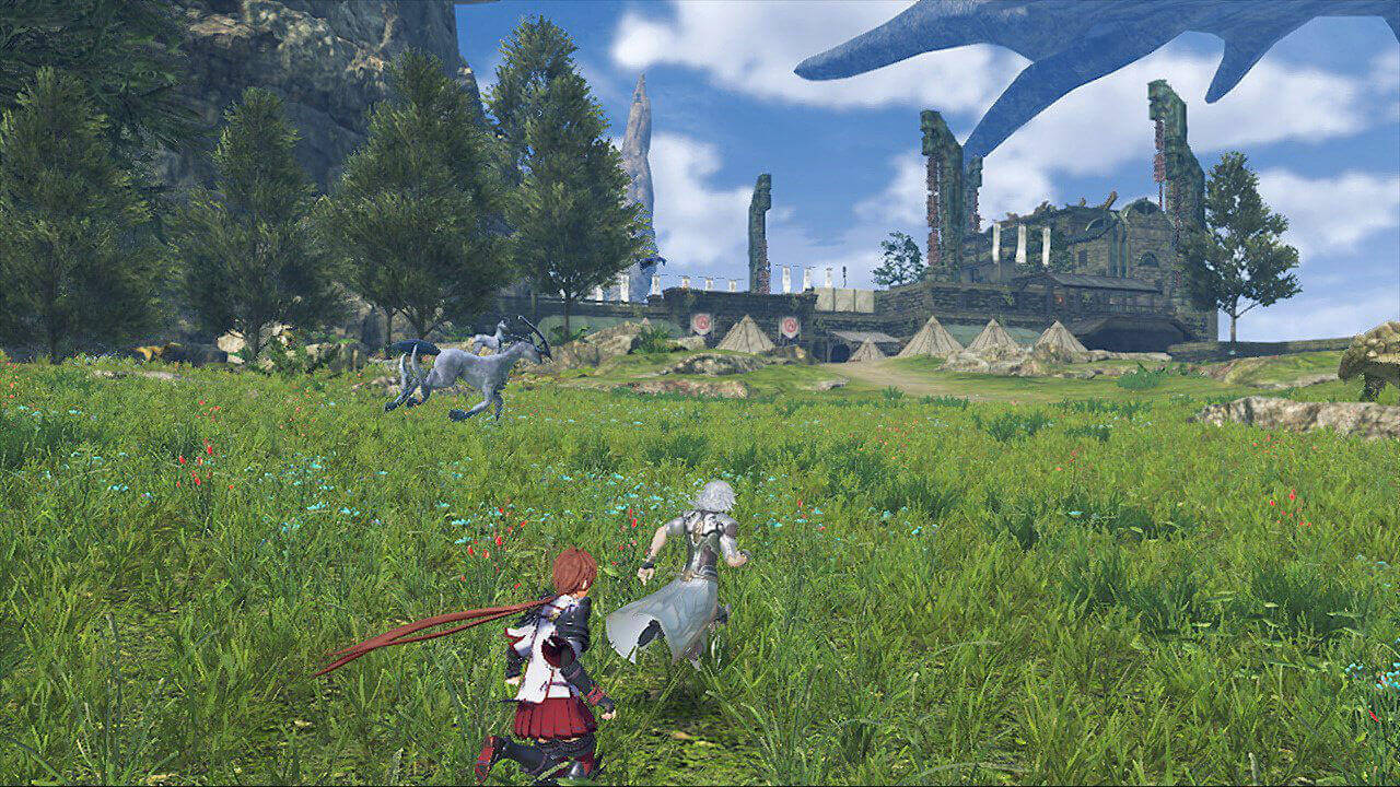 Xenoblade Chronicles 2 Torna The Golden Country Gameplay Screenshot 2